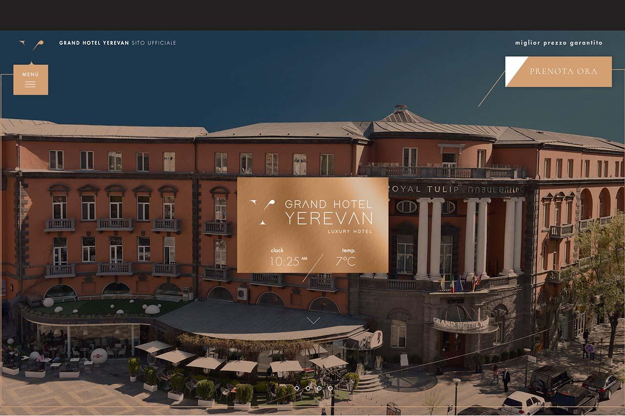 Inusuale nuovo sito Grand Hotel Yerevan