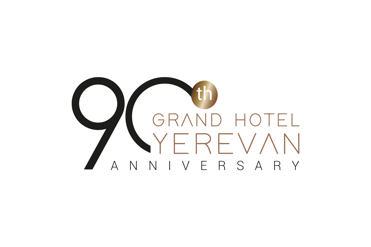 Grand Hotel Yerevan logo celebrativo by Inusuale