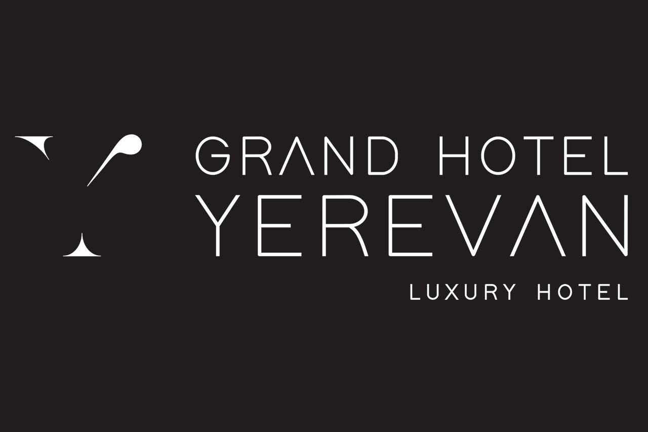 Inusuale logo e immagine coordina Grand Hotel Yerevan